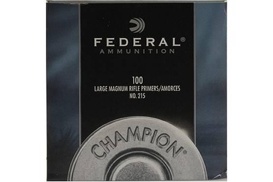 Federal 215  iso kivääri Magnum nalli 100kpl/rs