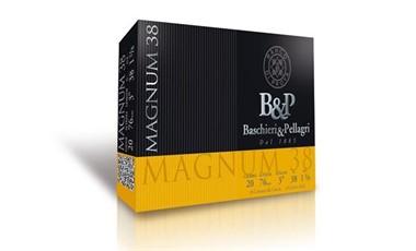 B&P Magnum 20/76 haulikoko 2 3,5mm 38g 10 kpl/rs