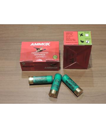AmmoX Premium Tungsten 12/70 24g 2,25mm 10kpl/rs