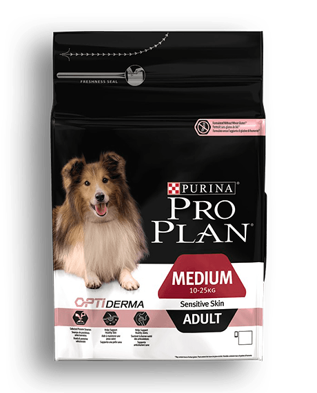Purina Pro Plan medium & adult sensitive skin 14kg lohi&riisi