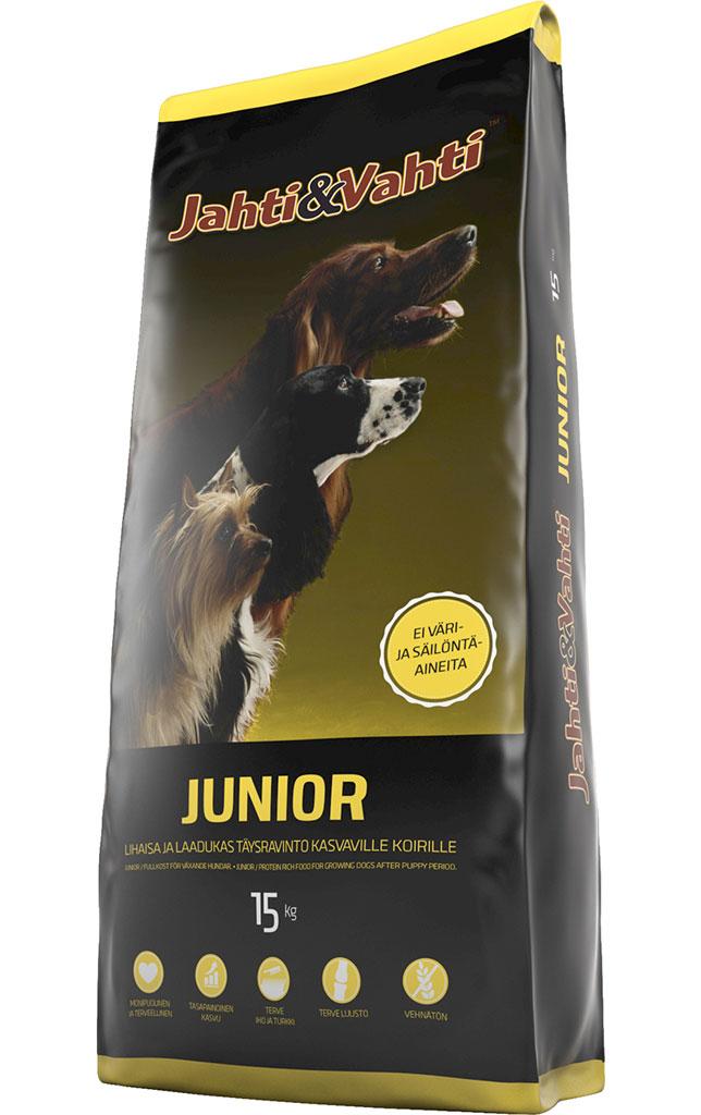 Jahti&Vahti Junior 15kg/säkki