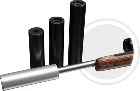Osuma äänenvaimennin 170  6,5 mm  17x1 Spigot Musta