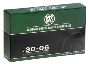 RWS 30-06 EVO Green patruuna 8,8g 20 kpl/rs