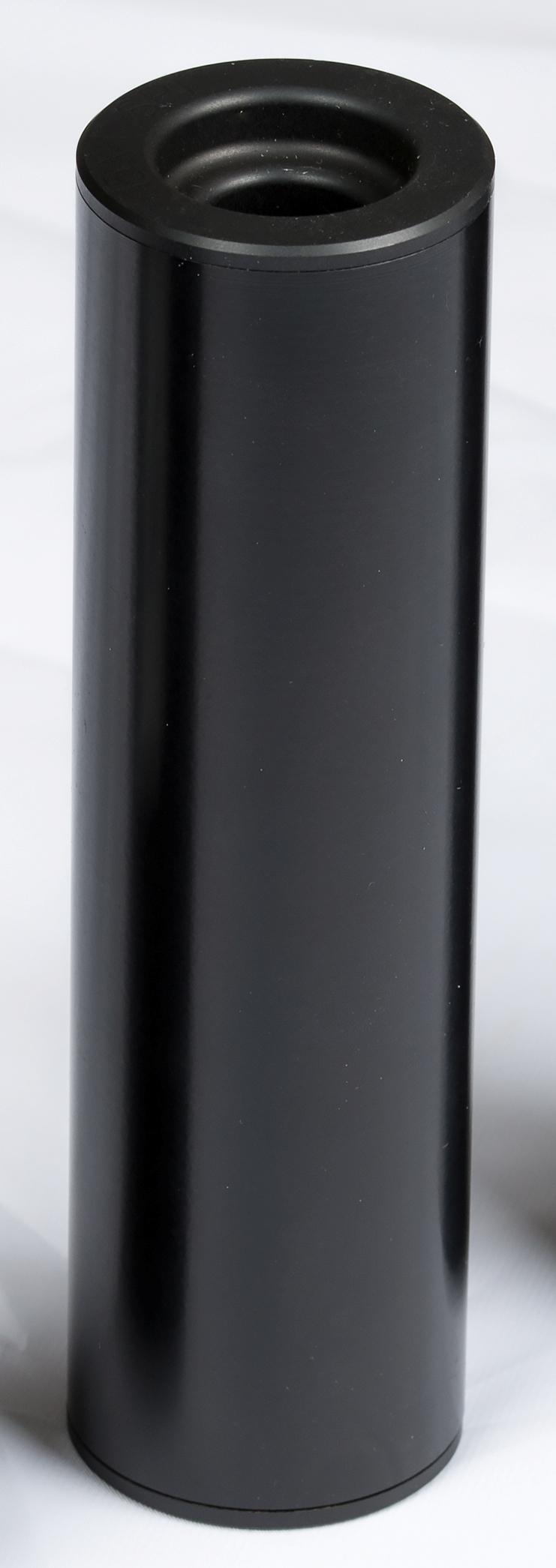 Osuma äänenvaimennin 220 6,5mm  15x1 spigot    musta