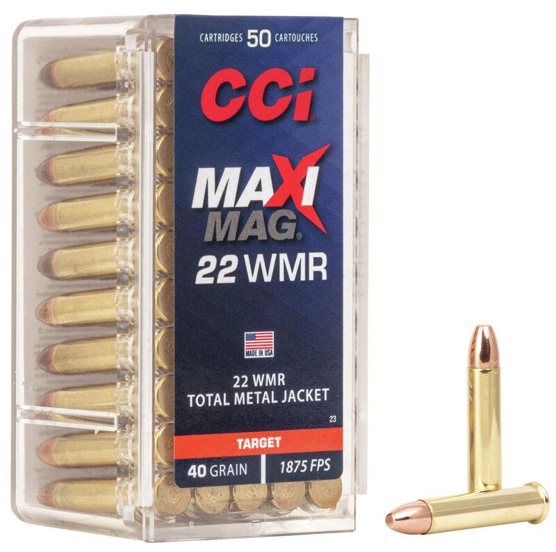 CCI 22 WMR maxi mag 2,6 g TMJ 580m/s 50kpl/rs