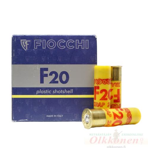 Fiocchi 20/70 Trap patruuna 2,4mm 24g 25kpl/rs