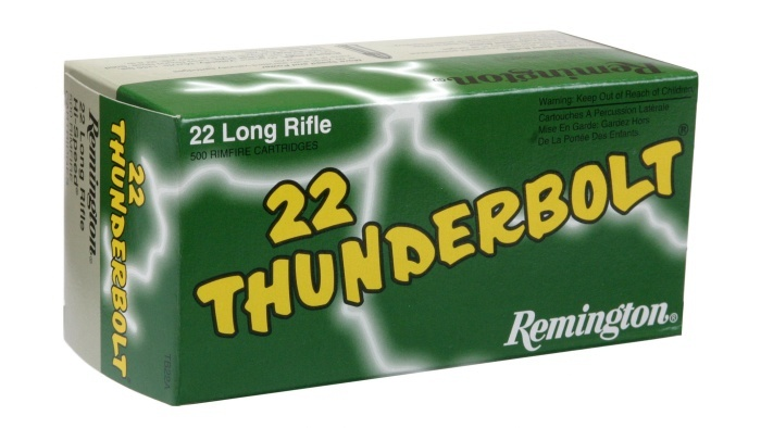 Remington 22 LR Thunderbolt 500 kpl / rs