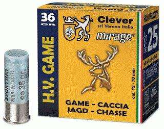 Mirage H.V. Game / High velocity T3 36g 12/70