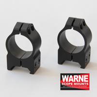 Kiikarinjalka Warne 30mm / Weaver matala 213M