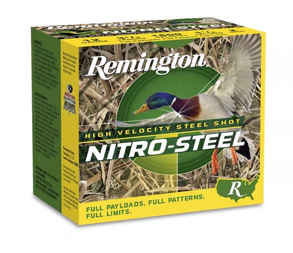 Remington Nitro Steel HV 12/76 teräshaulipatruuna 25kpl/rs