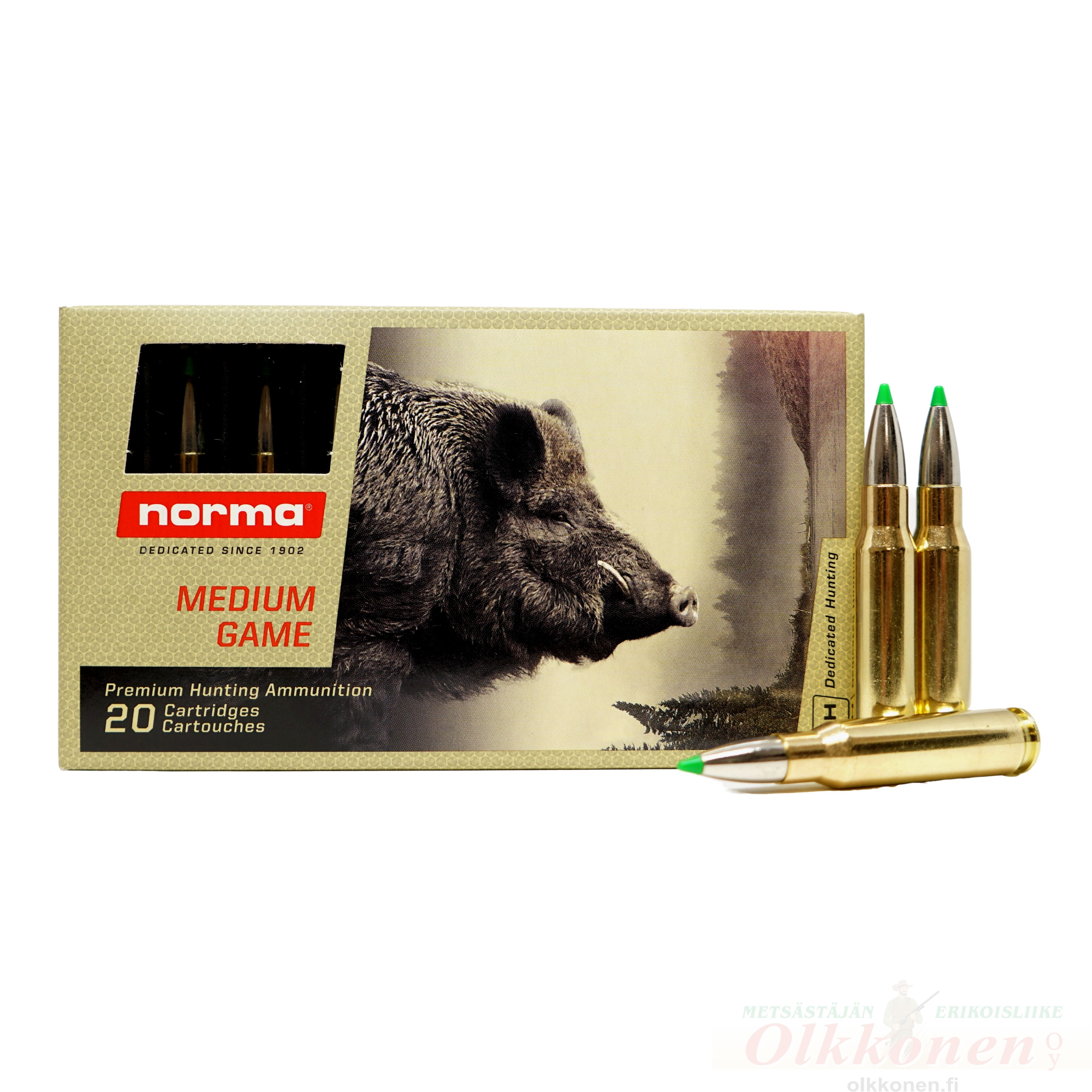 Norma .308 9,7g/150gr Ecostrike, 20 kpl/rs