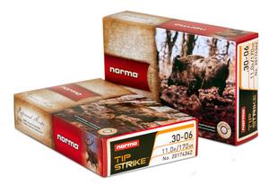 Norma .30-06 11,0g/170 gr/ TIP STRIKE 20 kpl / rs
