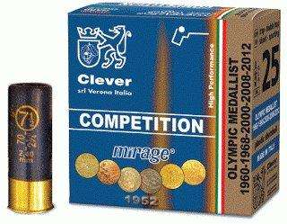 Mirage Competition 12/70 T2  24g  no 9,5 Skeet 250kpl/rs