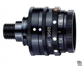 Anschutz 9565 Iris disc with 5 color+pol filter