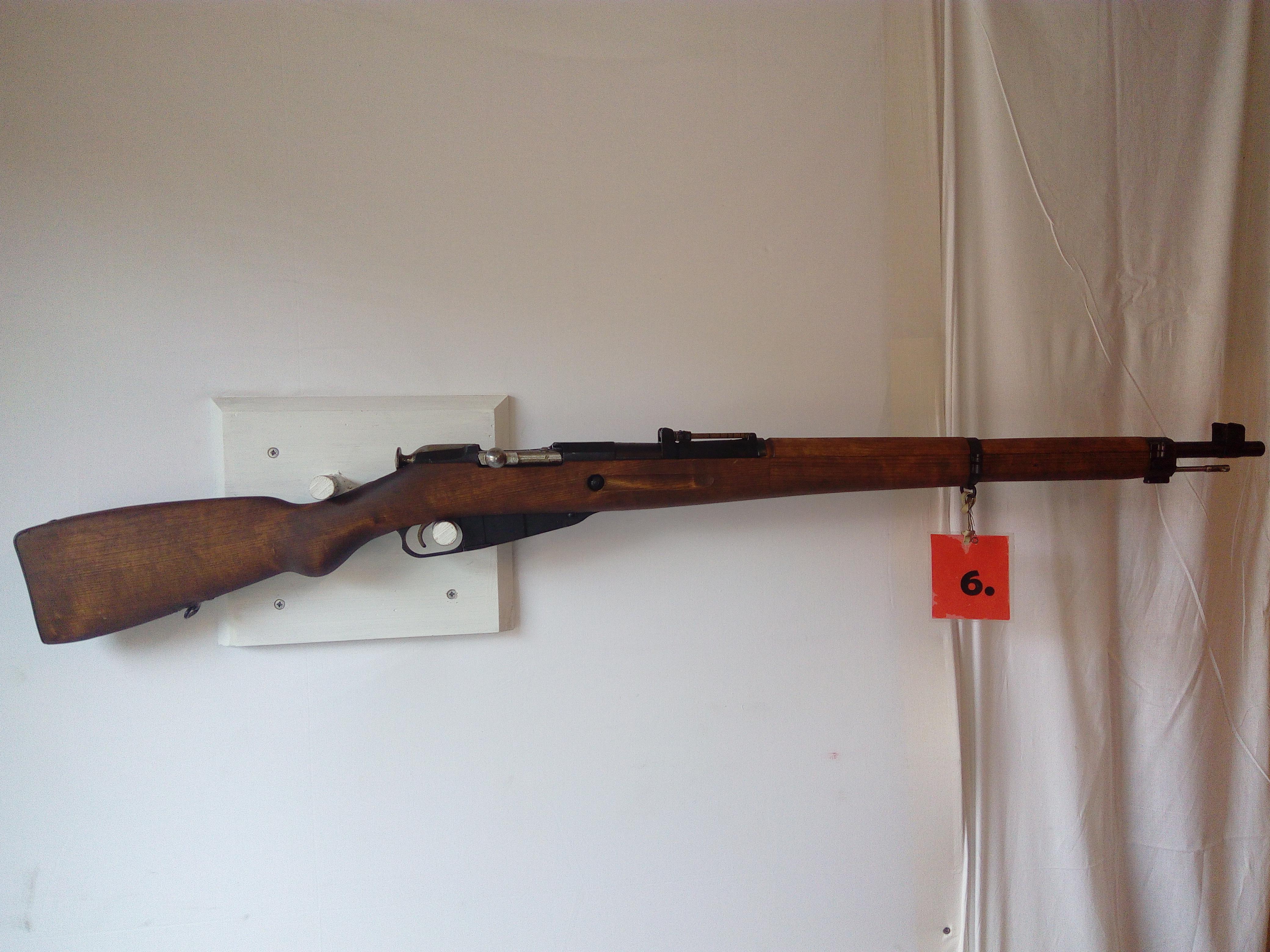 Sotilaskivääri 7,62X53R käytetty  MT