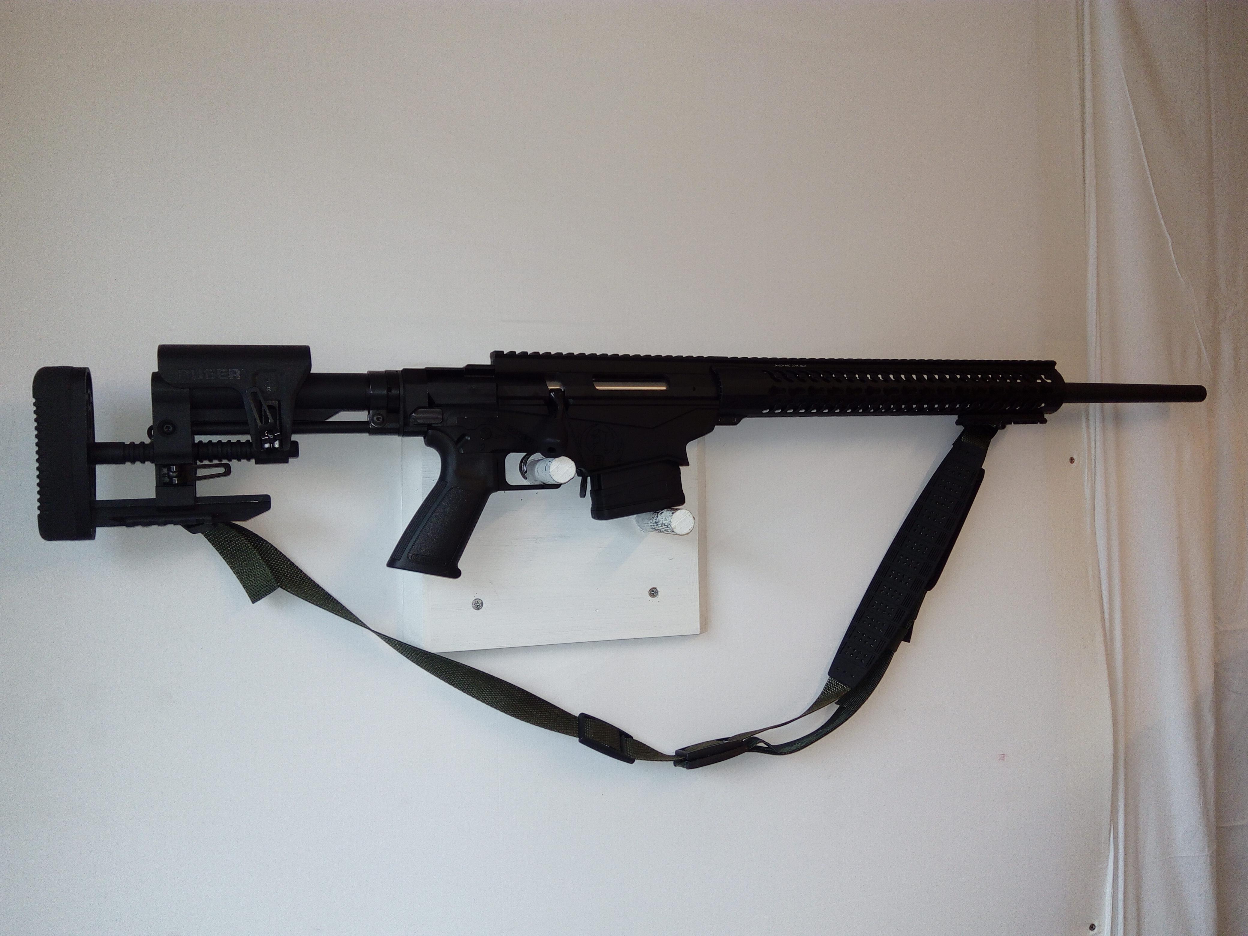 Ruger Precision 6,5mm Creedmoor kivääri, käytetty