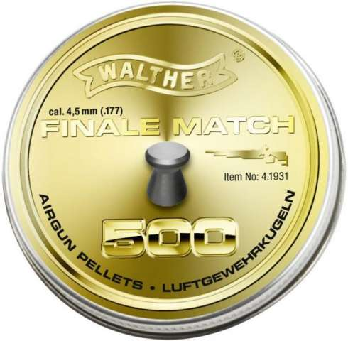 Walther Finale Pistol Match  4,50mm  0,49g