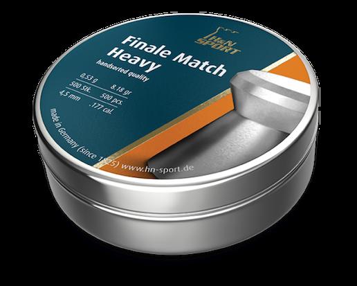 H&N Finale Match Heavy 4,50mm 500 kpl/rs