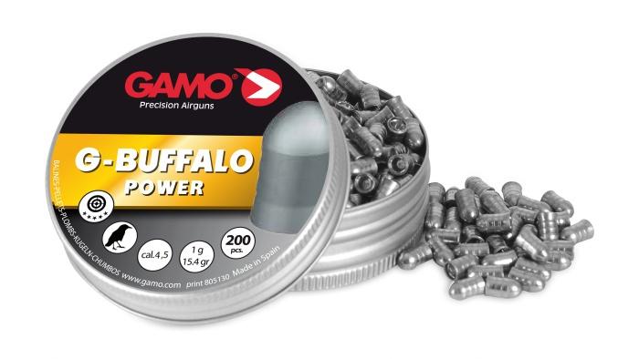 Gamo G-Buffalo ilmakiväärinluoti 4,5 mm 200kpl / rs