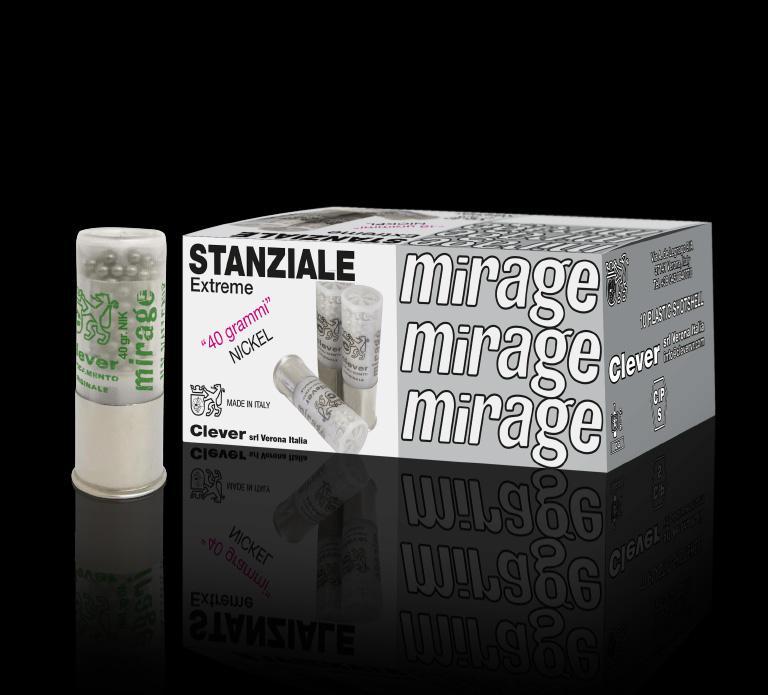 Mirage Extreme Stanziale 12/70 40g 10kpl/rs