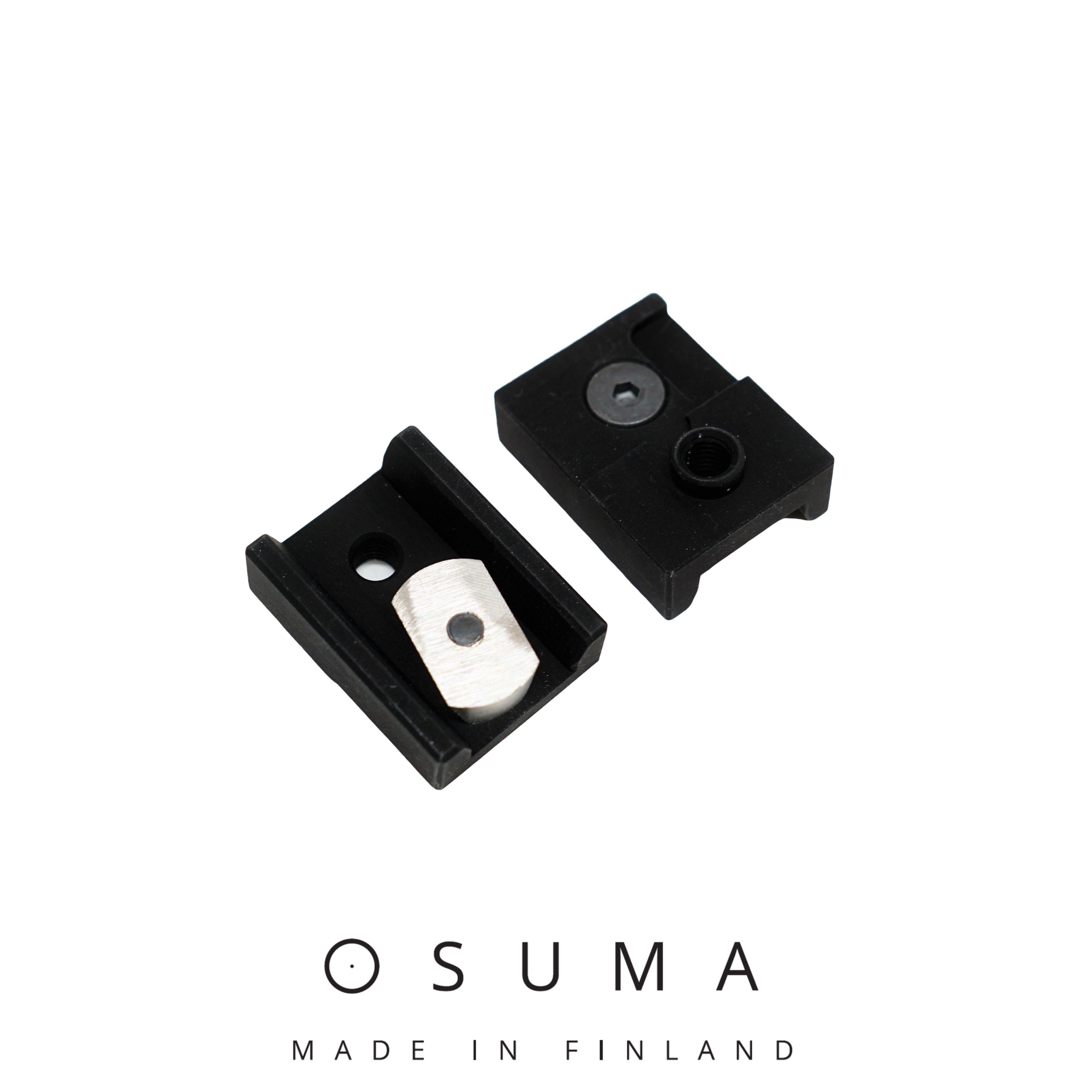 Osuma ZM-kiskokiinnike Optilock-jalustaan