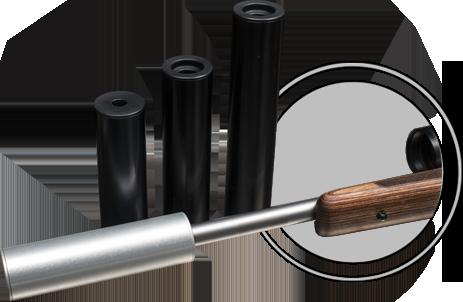 Osuma äänenvaimennin 170  6,5mm 1/2 UNF  Musta OUTLET