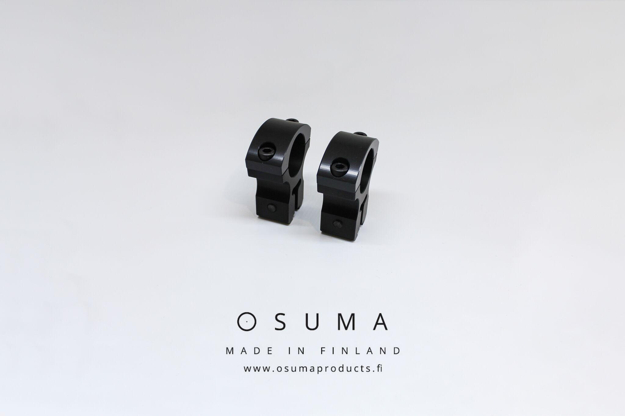 """Osumajalka 1""""/17mm/25mm väri musta OUTLET"""