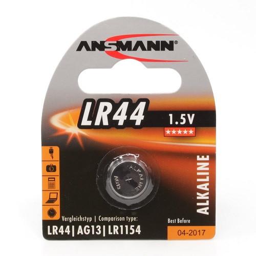 Ansmann LR44 (alkali) 1,5V