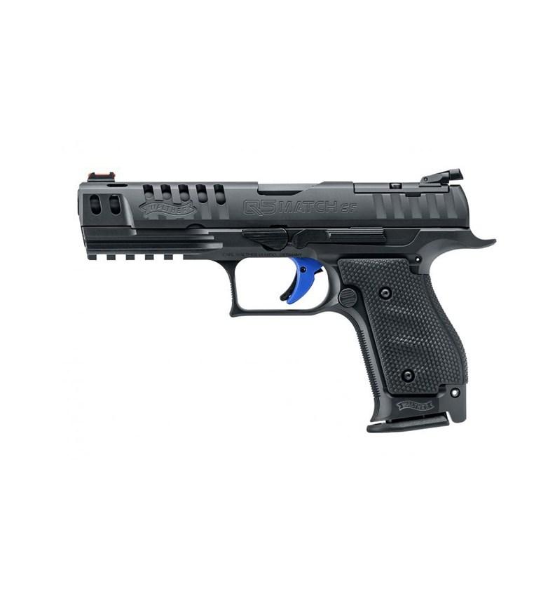 "Walther PPQ Q5 Match Steel Frame Expert 5"" 9mm 3x15 rd pistooli"