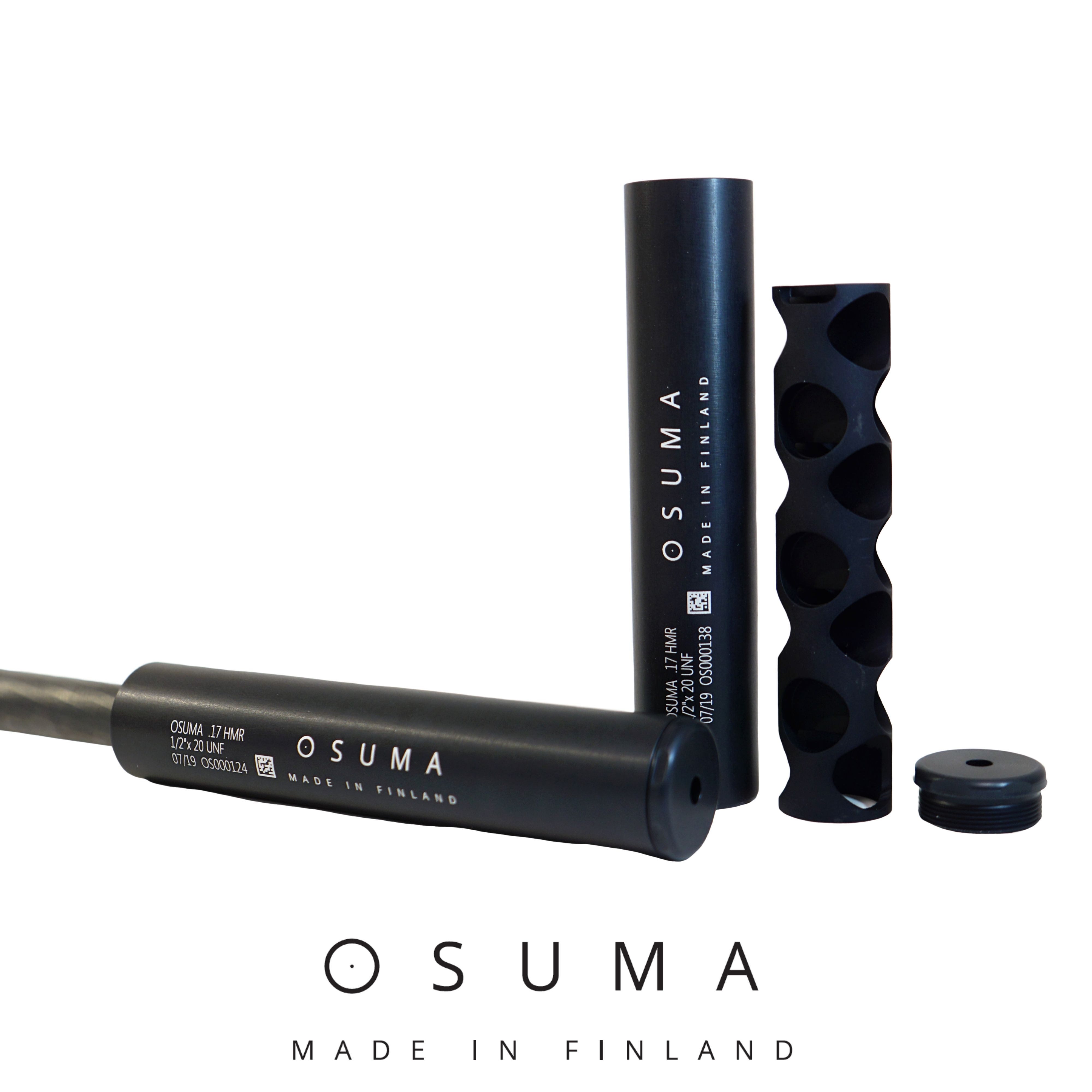 "Osuma HMR äänenvaimennin .17 HMR ½""x20 UNF"