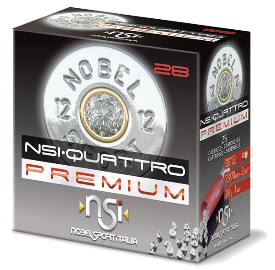 Nobel Sport Quatro 12/70 28g nro 7 1/2 2.4 mm
