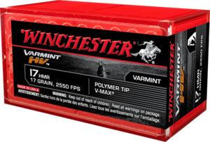 Winchester .17HMR Supreme V-MAX 17gr 50kpl/rs