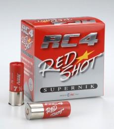 RC4 Red Shot Supernickel 12/70 24g 7,5/2,4mm patruuna 250kpl/ltk