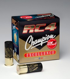 RC4 Champion Excellence 12/70 28g 7,5/2,4mm patruuna 250kpl/ltk