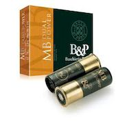 B&P Dual Power 36 g 12/70  nro 7+4 2,5mm/3,1mm