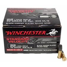 Winchester Standard Velocity 22LR 2,9g 235kpl/rs