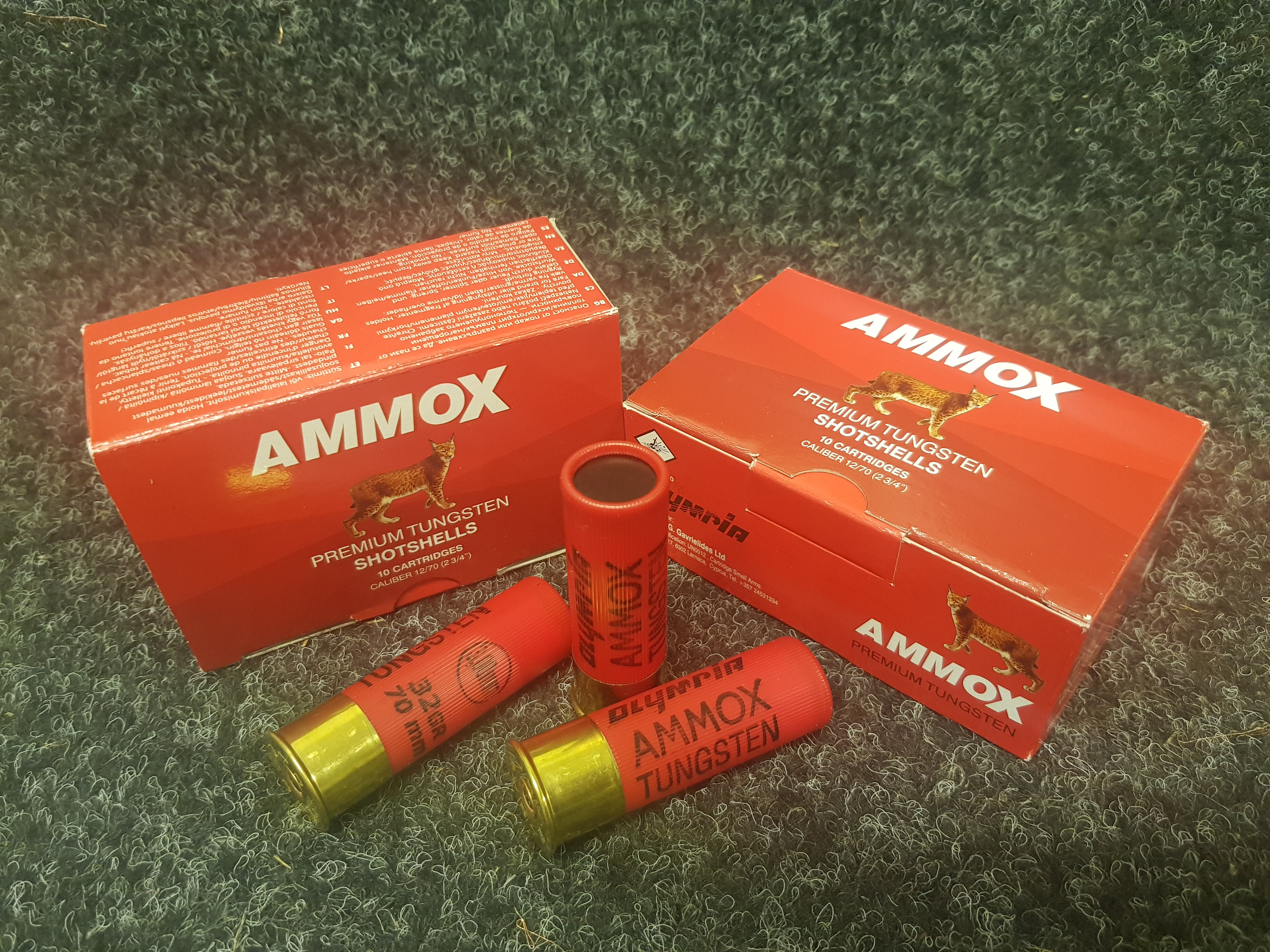 AmmoX Premium Tungsten 12/70 32g 2,75mm 10kpl/rs