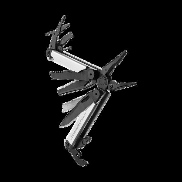Leatherman Wave+ Black&Silver monitoimityökalu nylonkotelolla