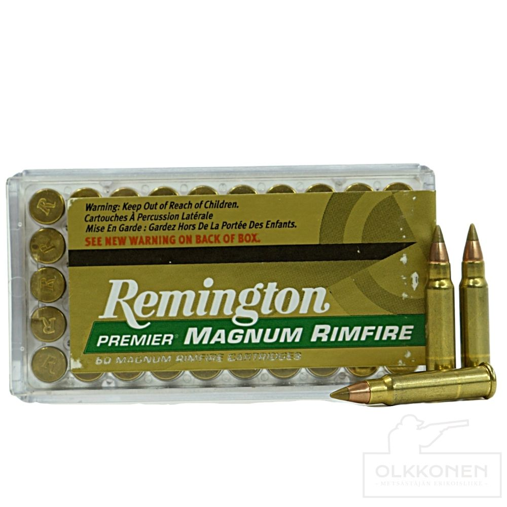 Remington .17 HMR Accutip-V BT patruuna 17gr 50 kpl / rs