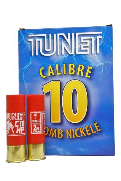 Tunet 10/89 64 g niklattu hauli 10 kpl/rs