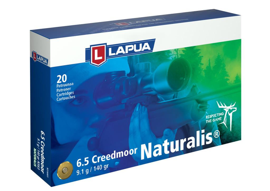 Lapua 6,5 Creedmoor Naturalis 9,1g 140 gr N563 20 kpl /rs