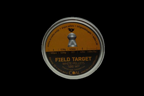 Coal ilmakiväärinluoti 4,50mm Field target 0.56g WP 500kpl/rs