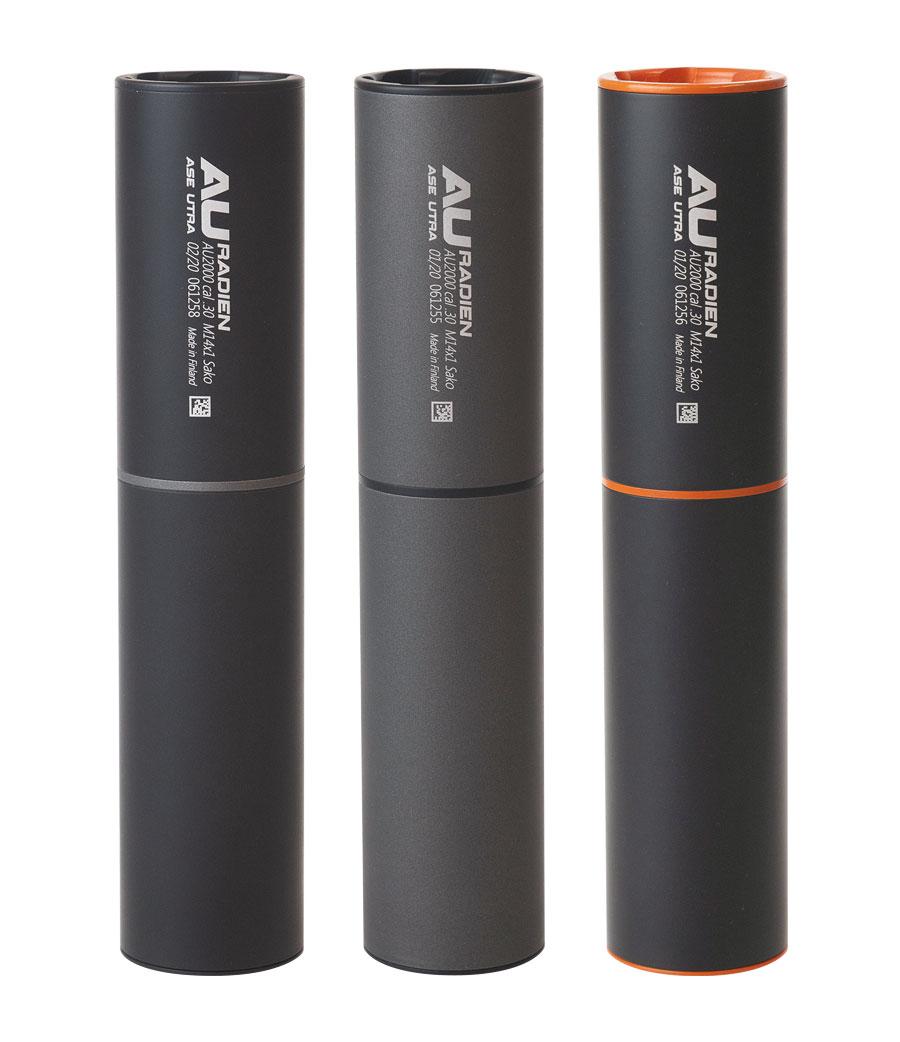 Ase-Utra Äänenvaimennin Radien .30 M15x1, musta
