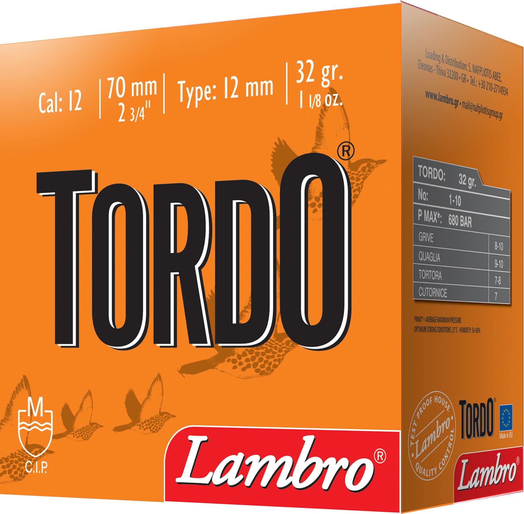 Lambro Tordo 12/70 32g