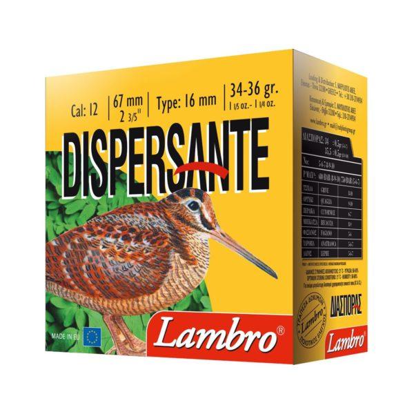 Lambro Dispersante 12/67, 34g. 2,5mm 25kpl