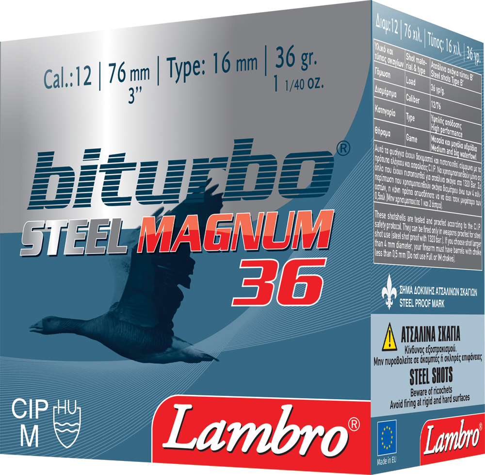 12/76 Lambro Steel Magnum 36g Biturbo 25kpl