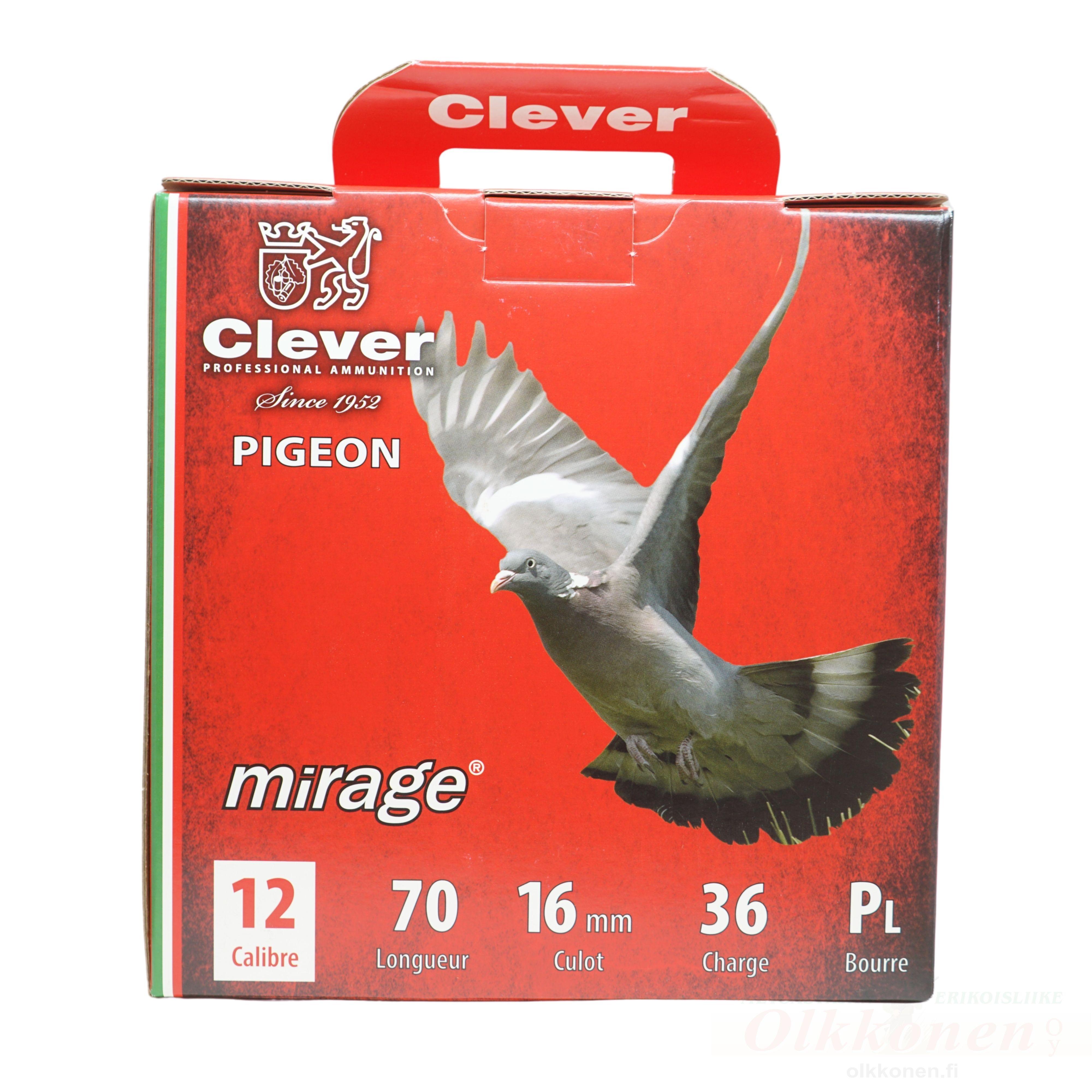 Mirage Pigeon 12/70  T3 36g