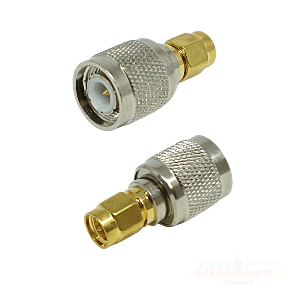 Antenniadapteri SMA uros / TNC uros