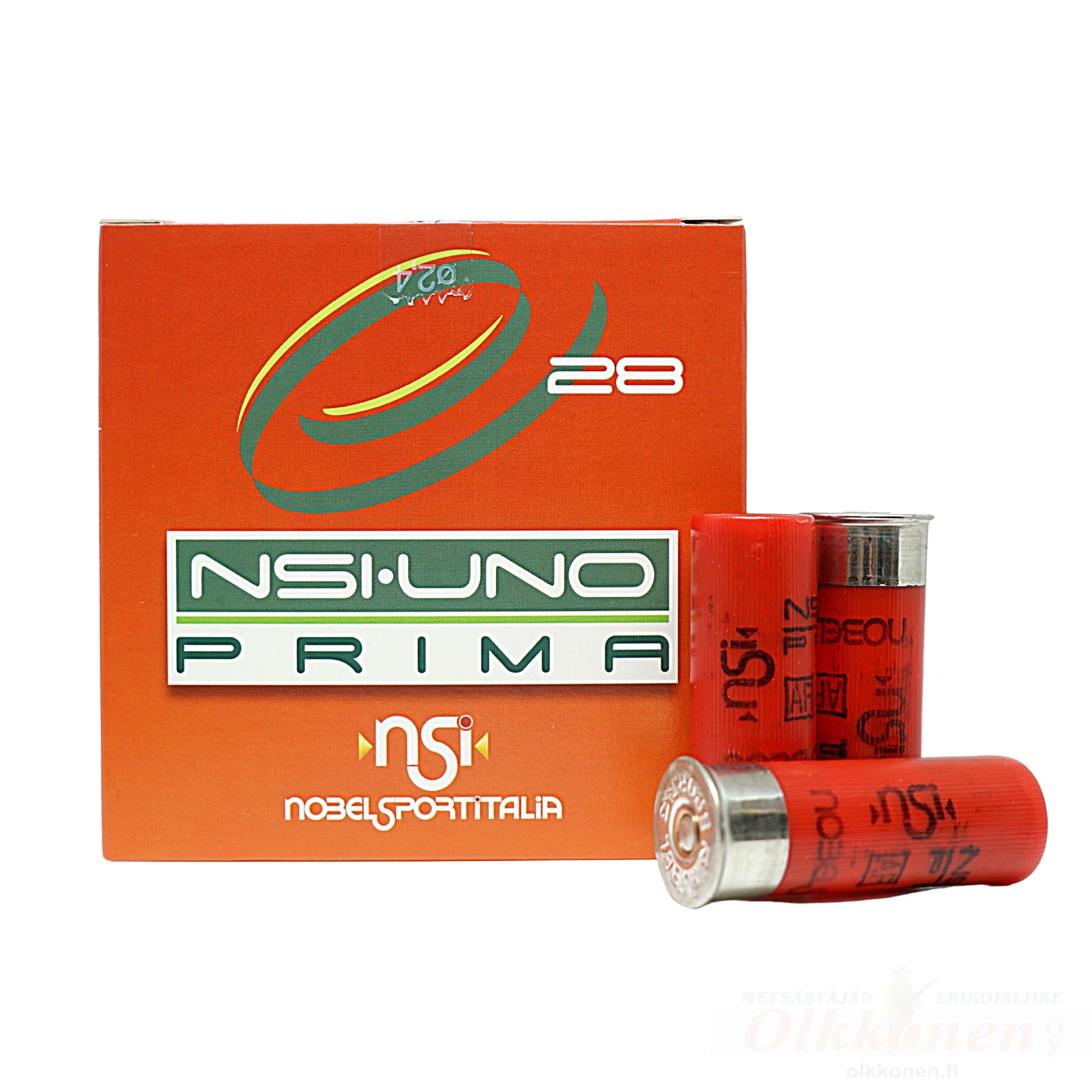 Nobel Uno Prima 12/70 28g haulikoko 7 25kpl/rs