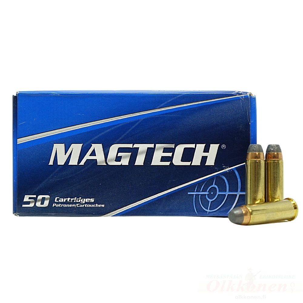 Magtech 38 SPL+P SJSP FLAT 125GR 38D